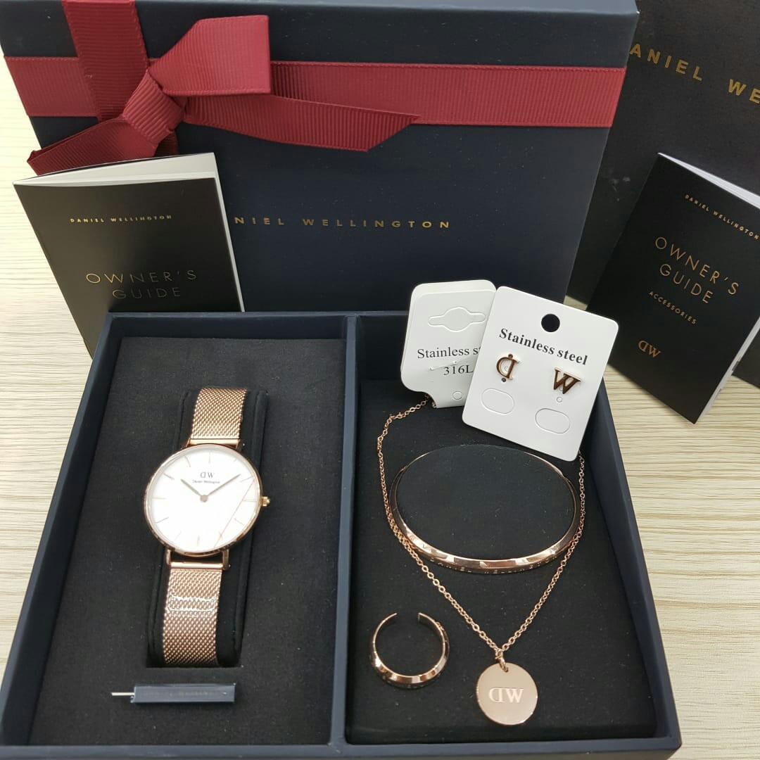 Daniel Wellington Gift Set Full Original with Box