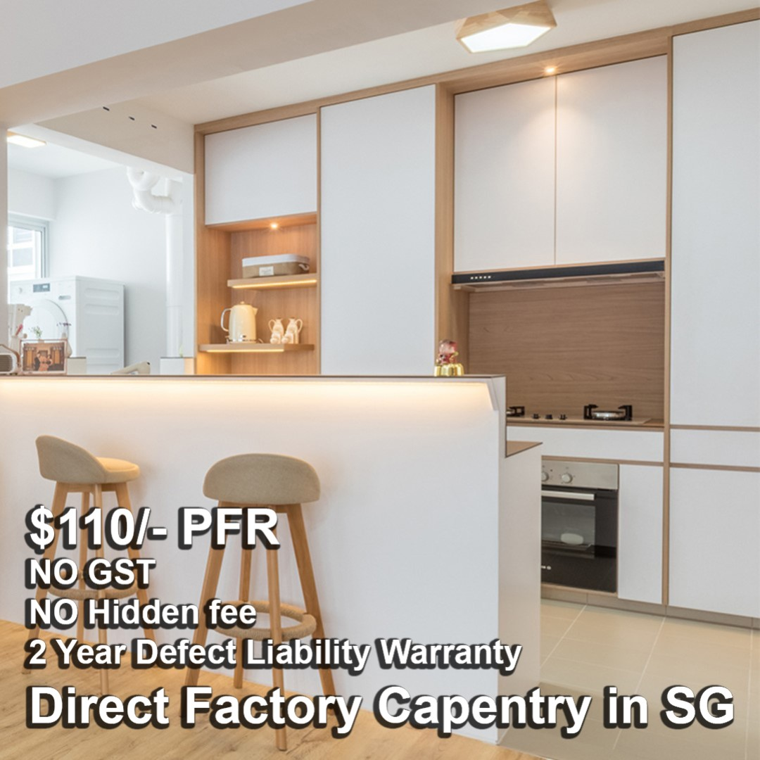 Direct Carpentry Factory In Sg Kitchen Cabinet