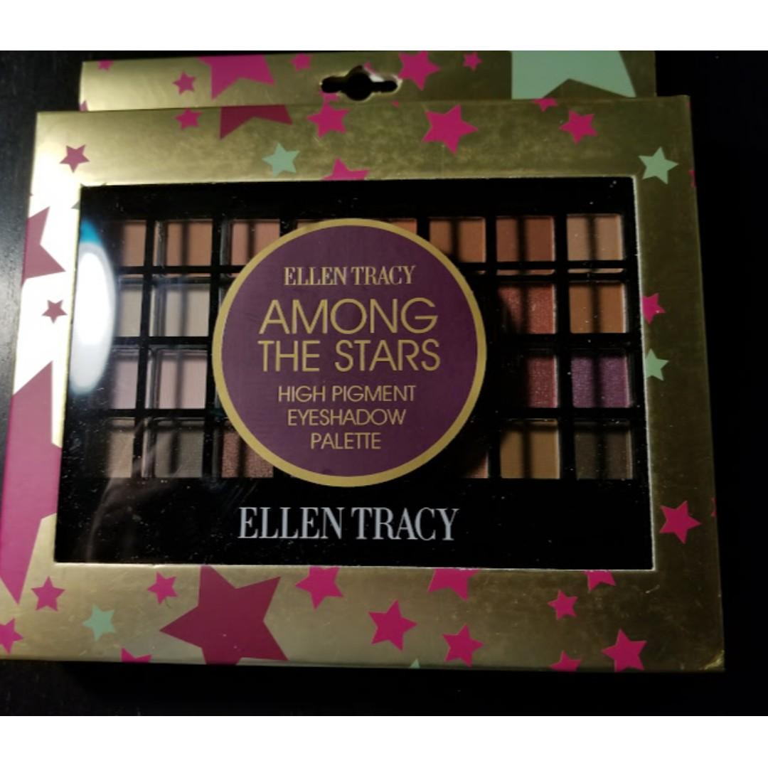 Ellen Tracy Among The Star High Pigment Eyeshadow Palette