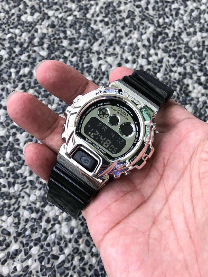 First Metal bezel for DW6900 in Singapore. 💯% brand new and authentic G-Shock DW6900 with custom metal bezel. G-Shock , gshock , Casio , CASIO , casio