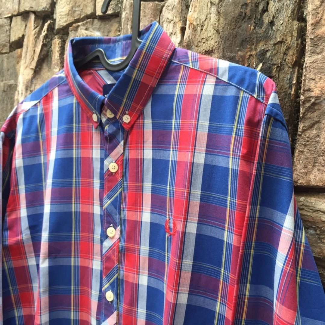 Fred Perry Tartan Check LS Shirt
