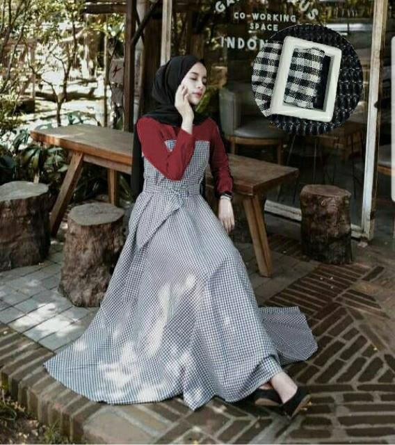Gamis Casual Gamis Korean Silk