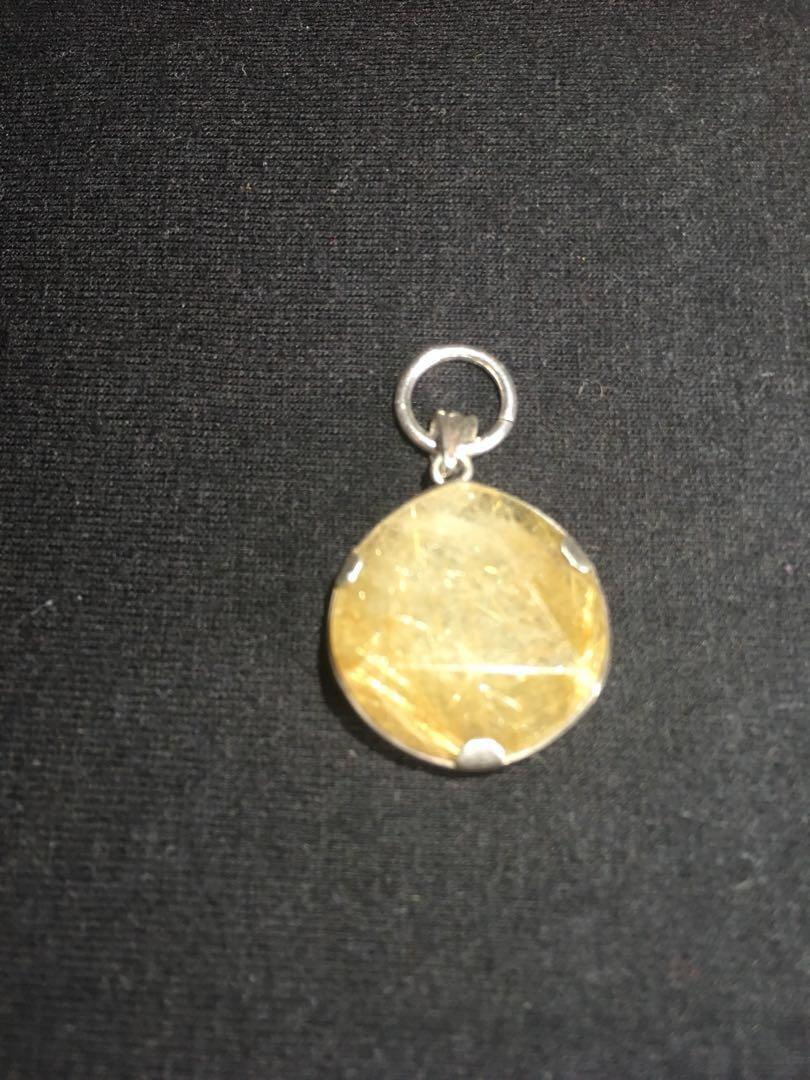 Golden Rutilated Quartz / Crystal