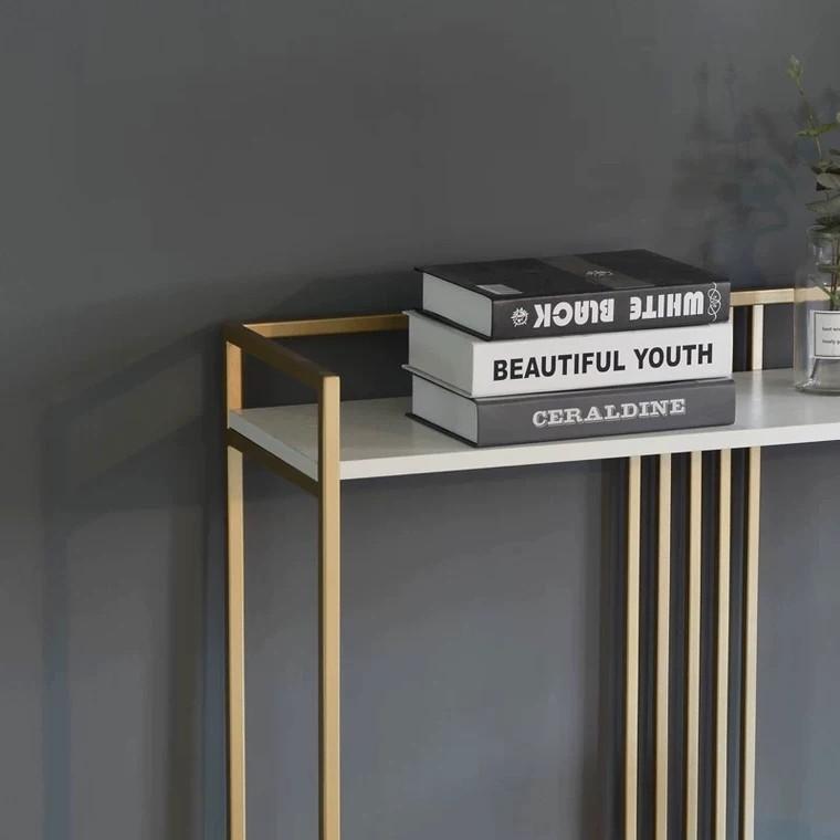 GRECIA Elegant Marble Hallway Console