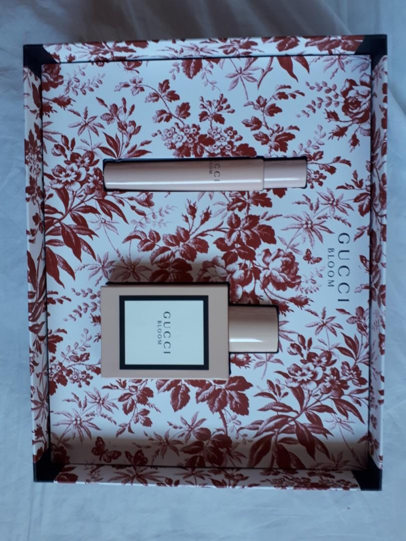 Gucci bloom perfume set