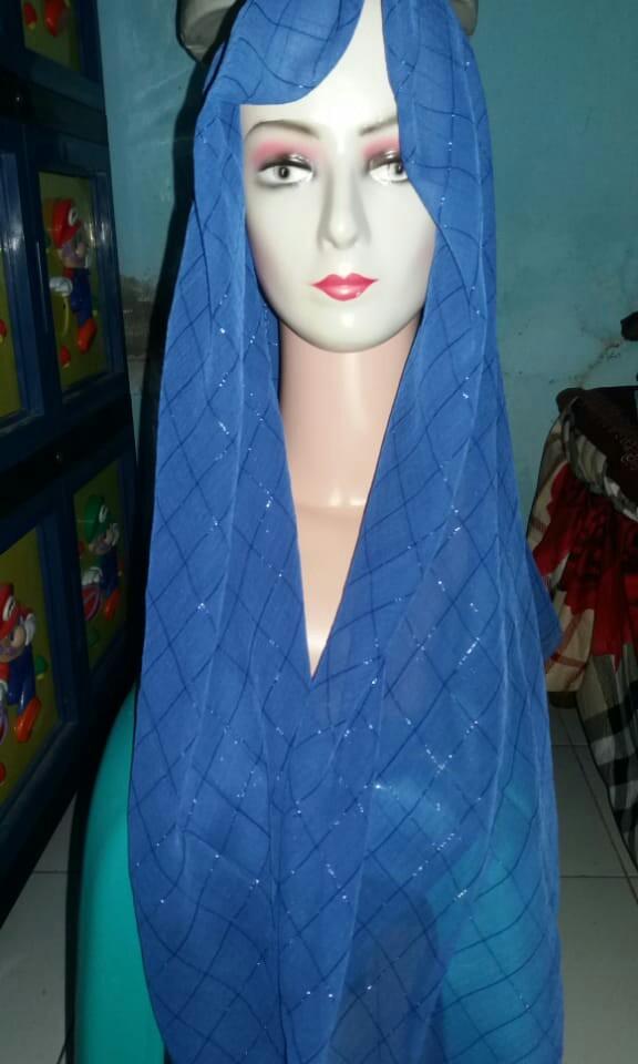 Hijab Segi 4 Electrik