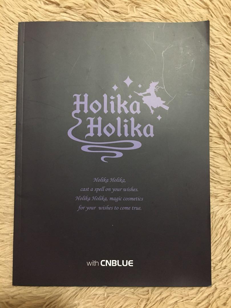 Holika Holika with CNBLUE *tgt with any CNBLUE album