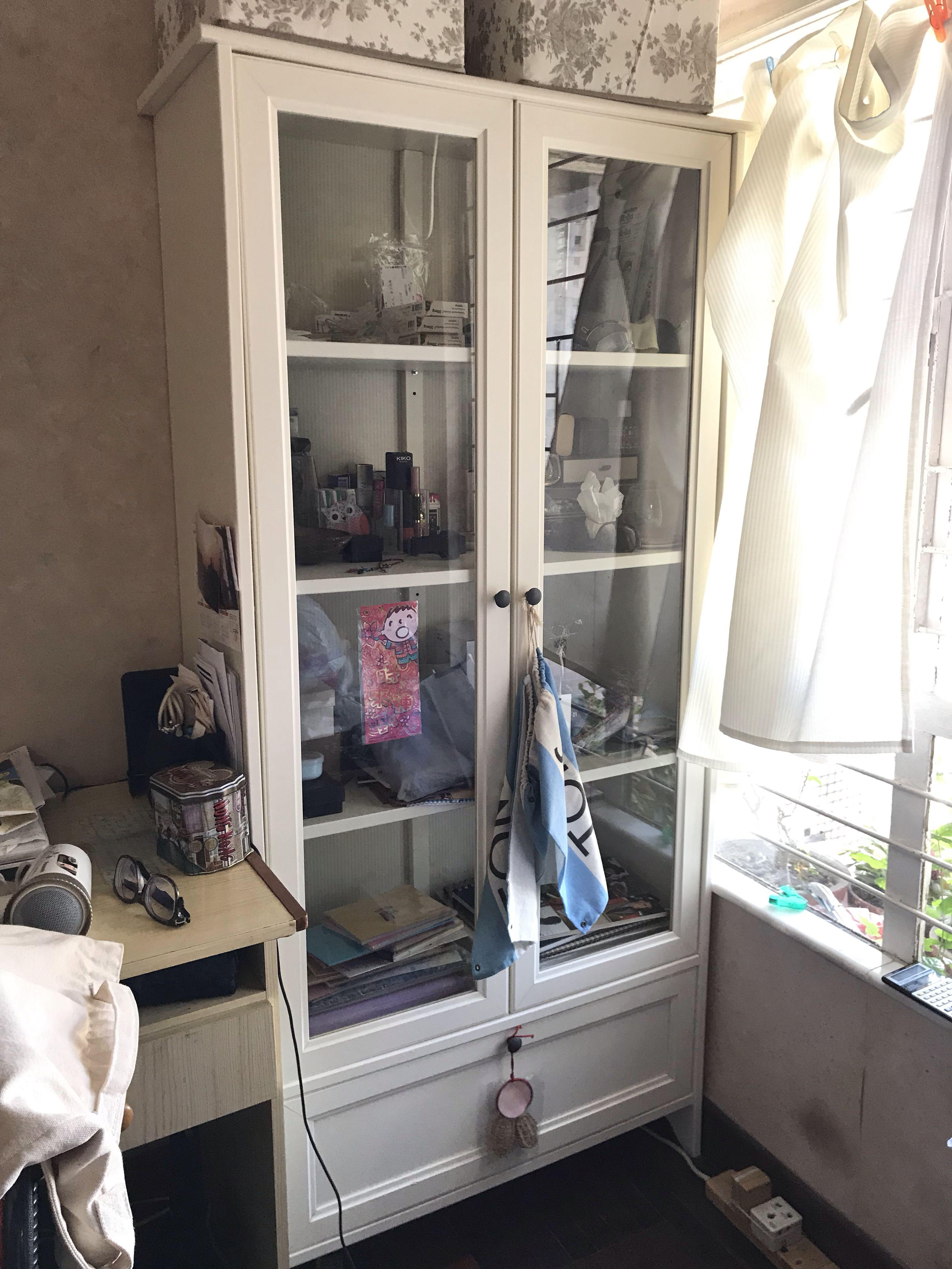 IKEA 白色木櫃