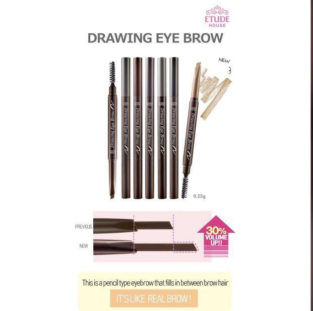INSTOCK Etude House Eyebrow Pencil/Drawing Eyebrow