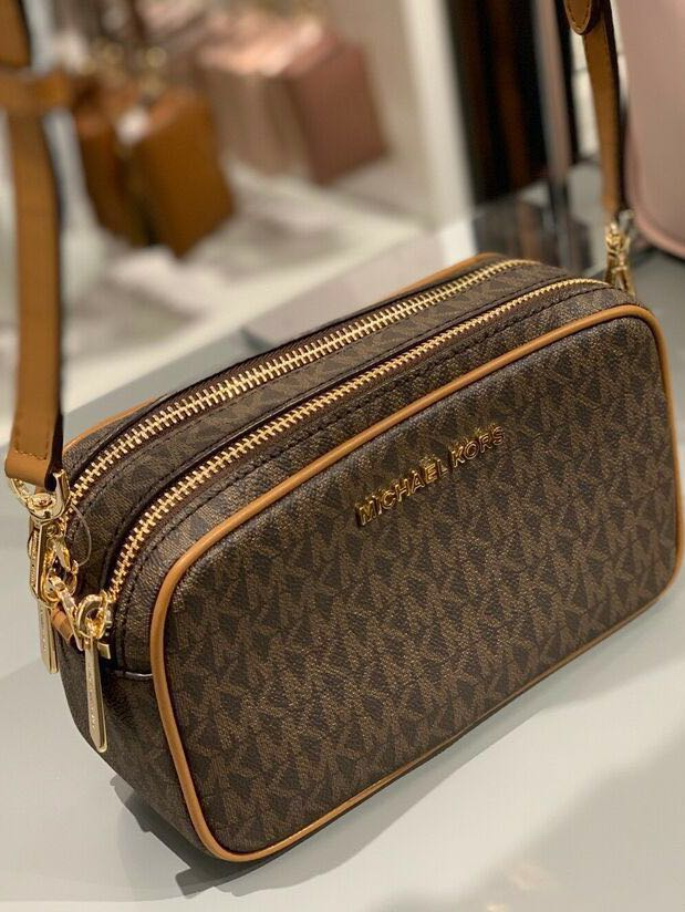 4b4287ae1801 INSTOCK)Sales! Authentic MK Michael Kors Connie Sling Double Zipped ...