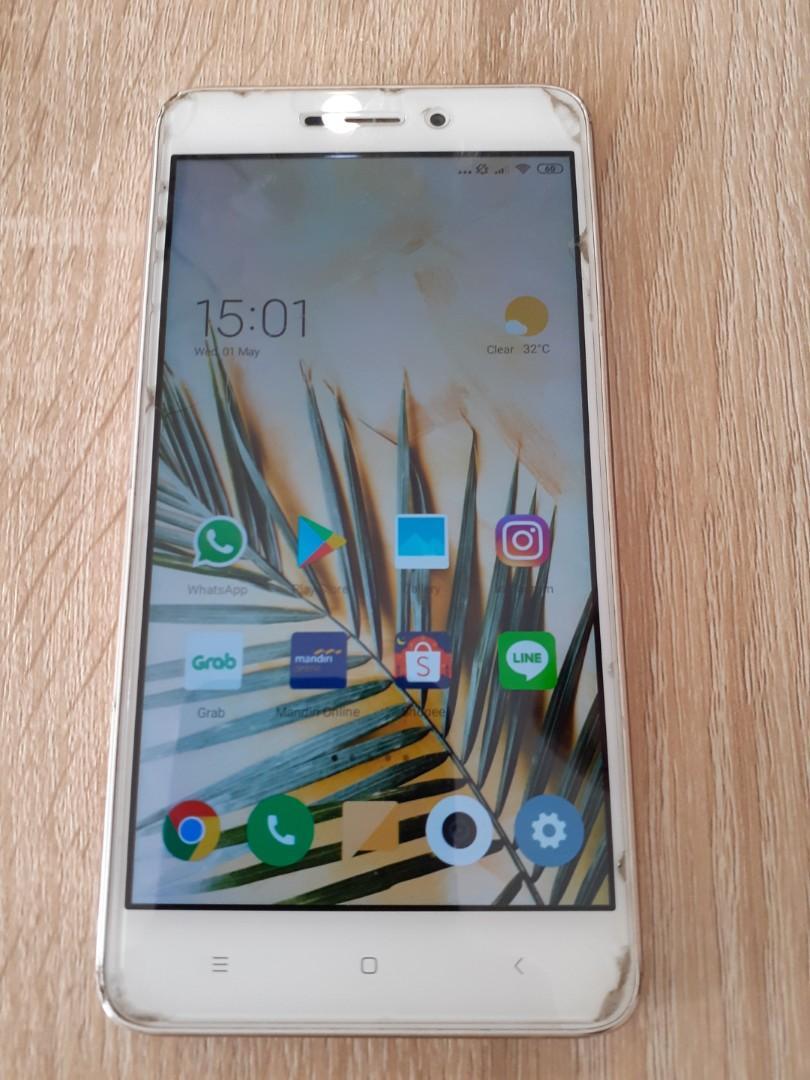 Jual Murah Handphone Xiaomi Redmi 4a Bekas Kondisi Bagus Mobile