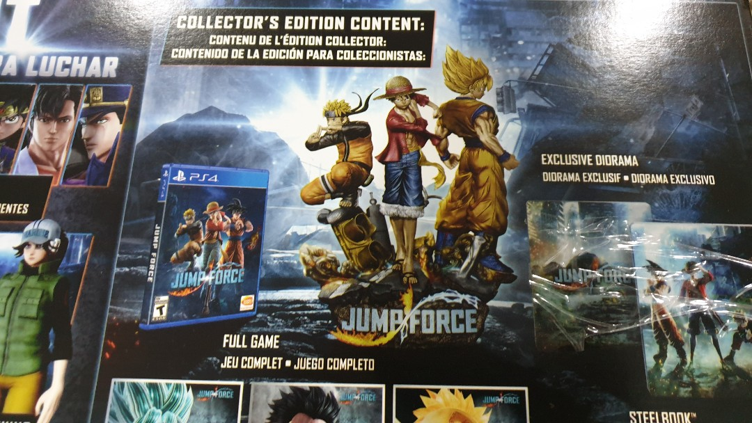 jump force collectors edition diorama