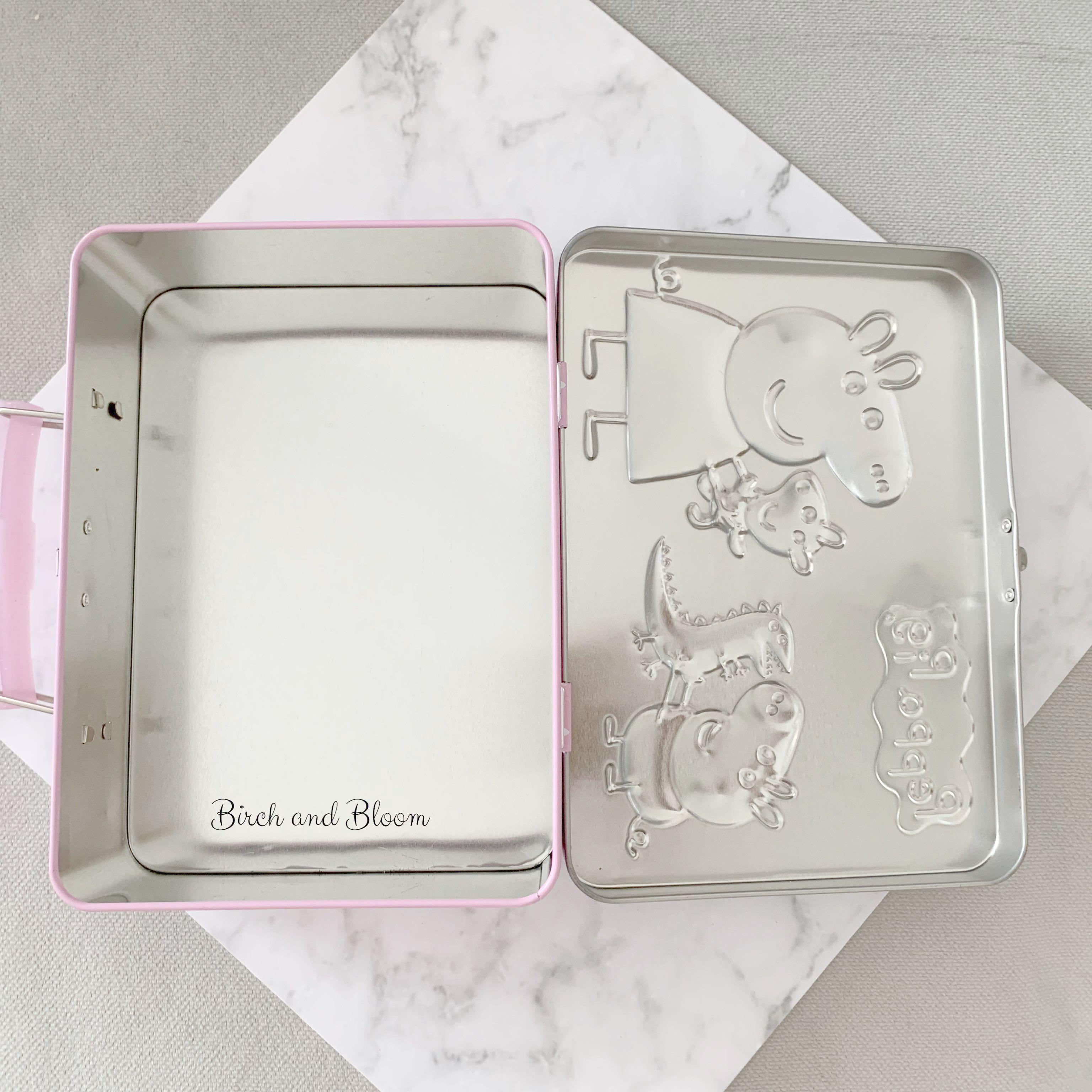 Kaleng Peppa Pig Tin Collectible Item