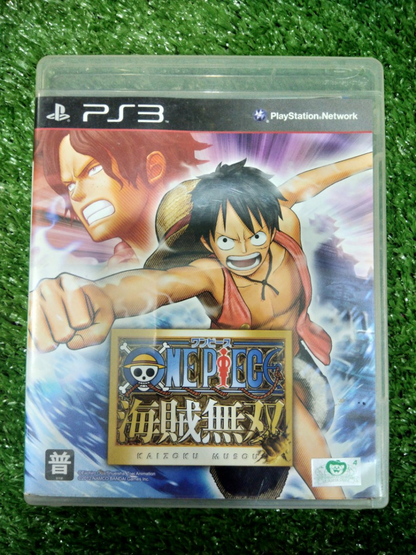 Kaset bd playstation 3 ps3 one piece video gaming video games on carousell