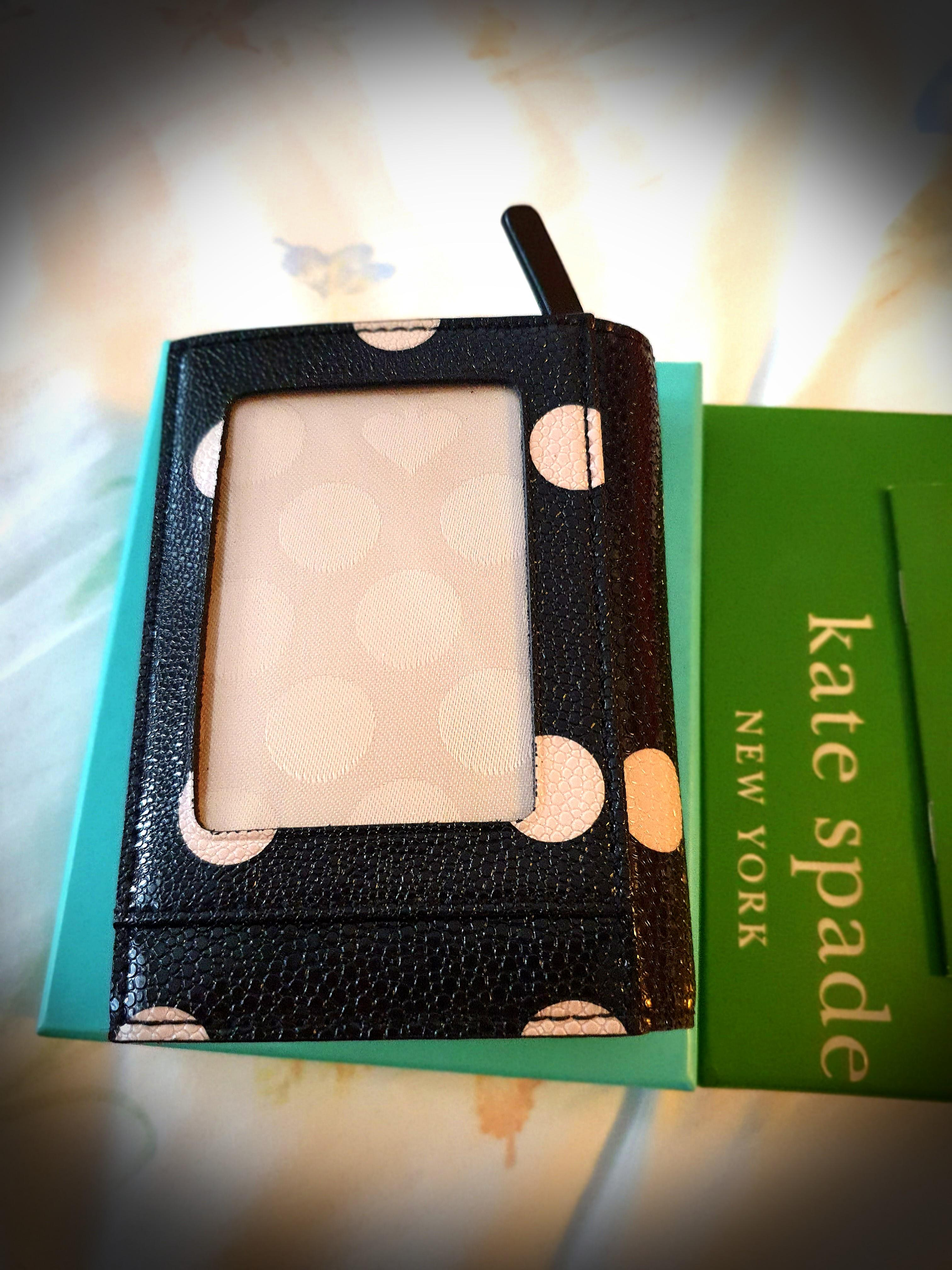 Kate Spade Card Holder cum key chain holder , Women's