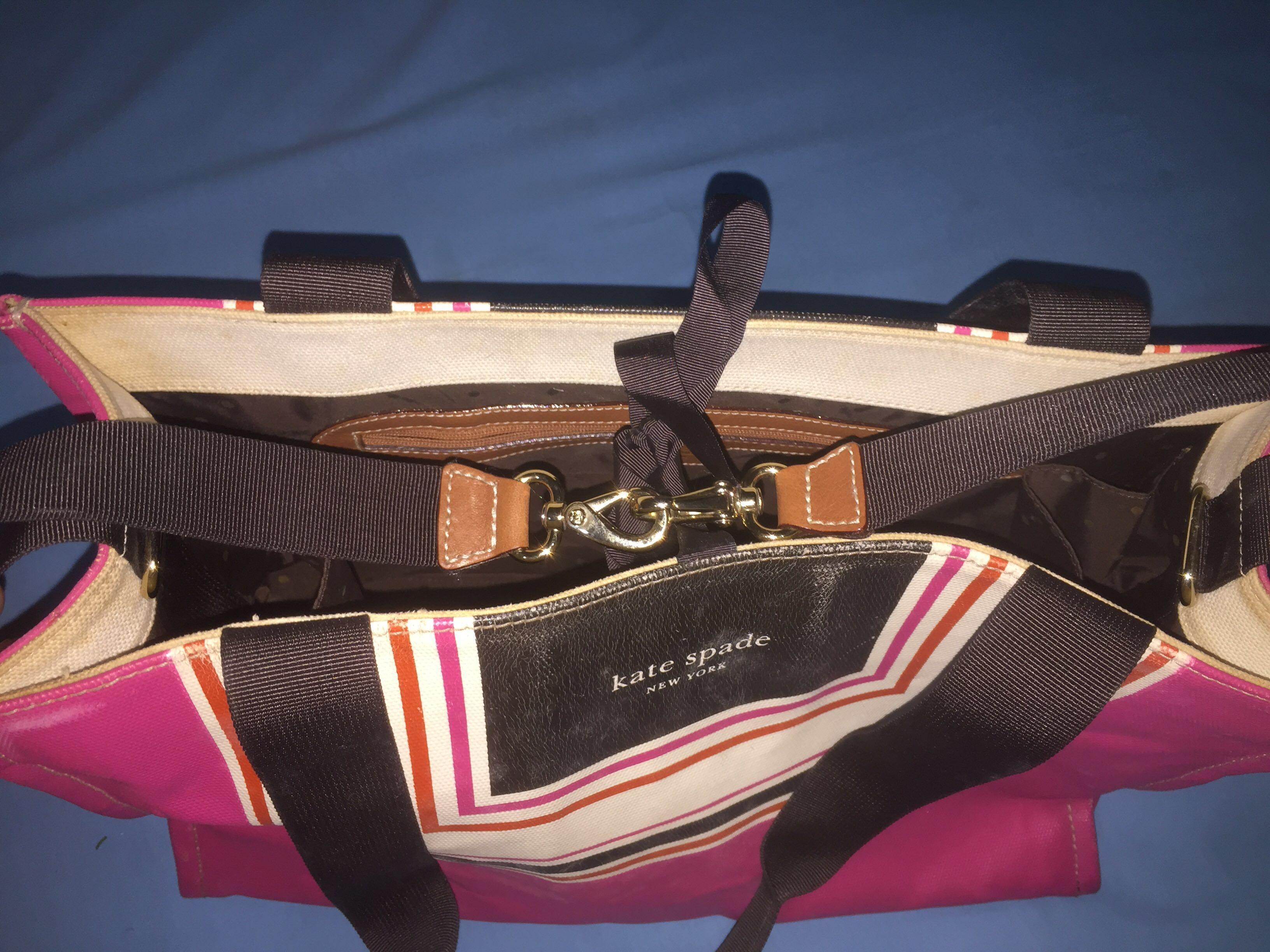 Kate Spade Tote Bag color block