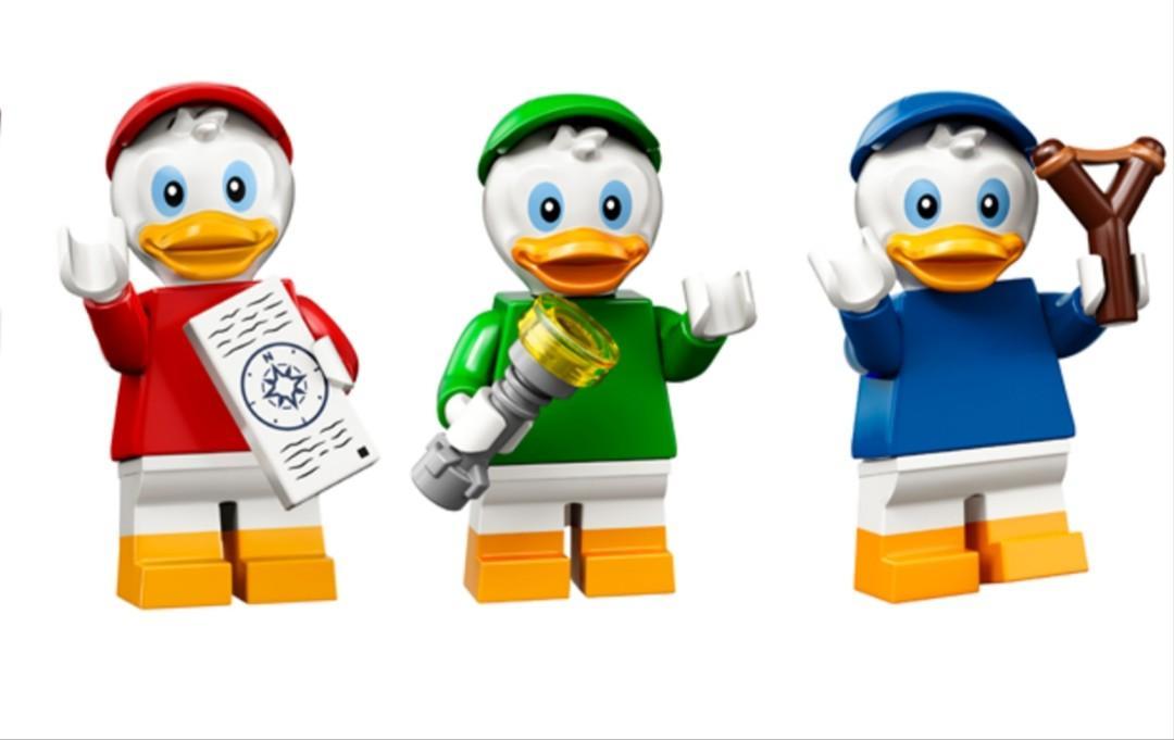 Lego Disney Series 2 Minifigure Huey, Dewey and Louie, Toys