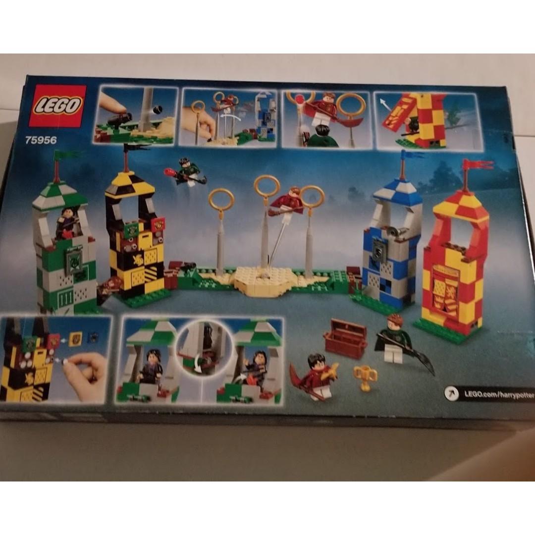 Lego Harry Potter Quidditch Match Set