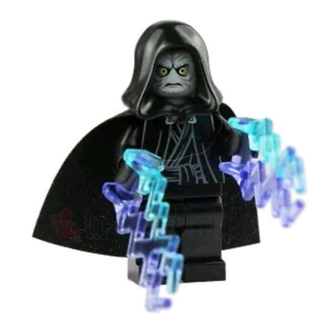 lego star wars  emperor palpatine toys  games bricks