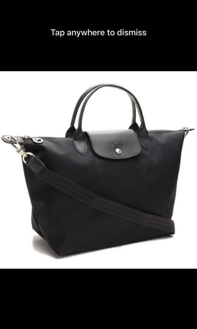 Official Website choose best attractive style Longchamp bag Neo sling medium 1515 black