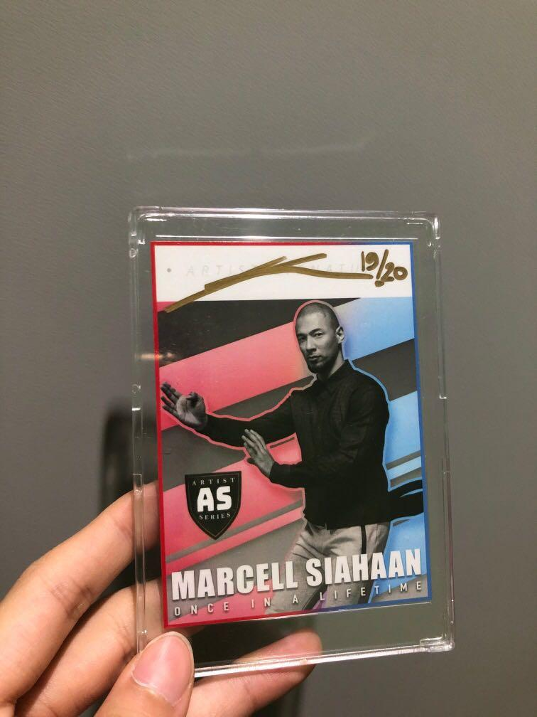 Marcel Siahaan 'Once In A Lifetime' Autograph Card