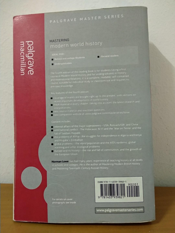 Mastering Modern World History - Fourth Edition