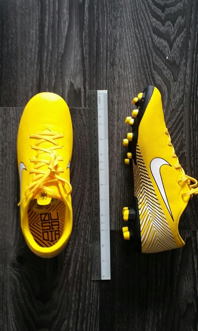 huge selection of 7884c 48568 Nike Mercurial Superfly VI Academy Neymar MG Alegria Yellow ...