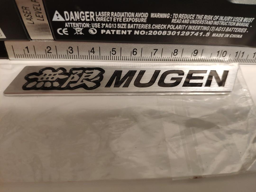 激罕絕版日本無限Mugen Power貼章 全新