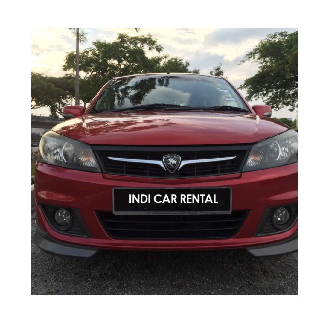 Myvi / Saga FLX for Rent untuk Sewa Car Rental Kereta Sewa