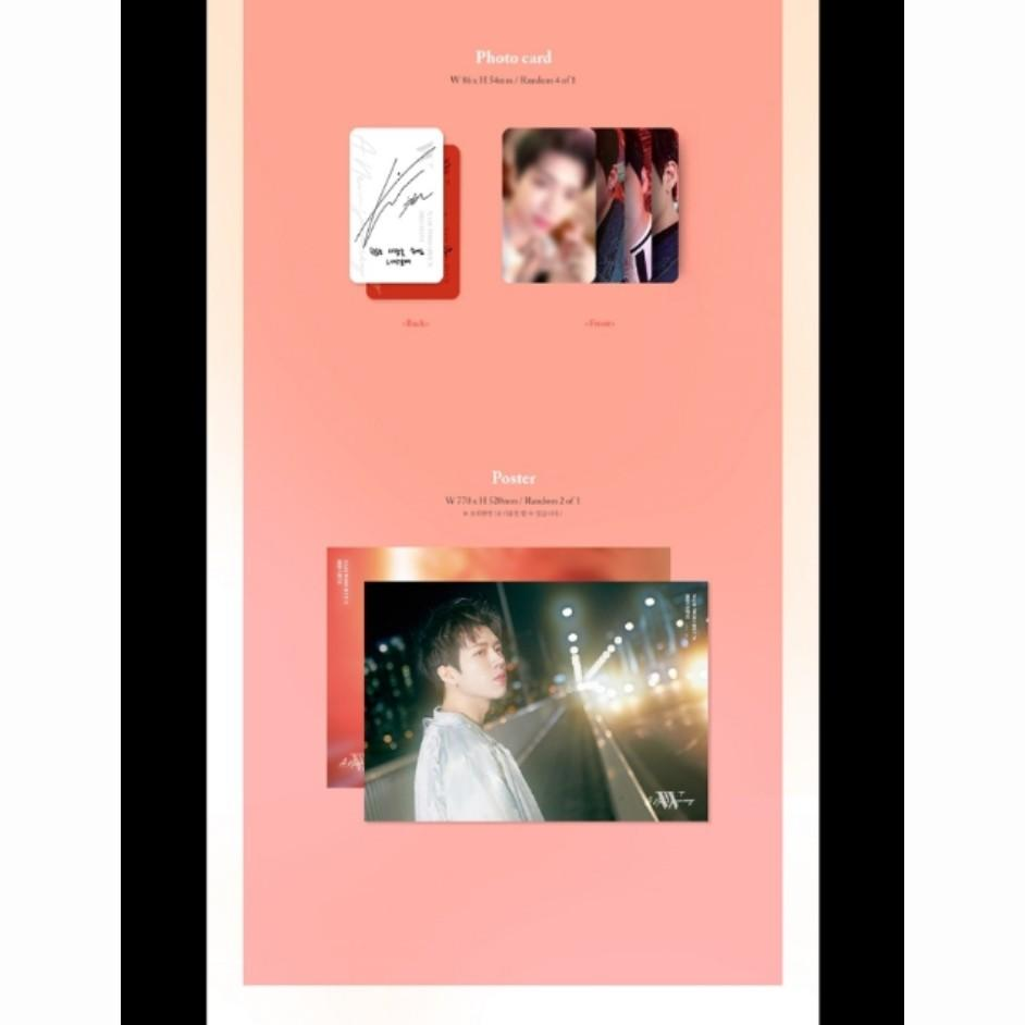 Nam Woo Hyun - A New Journey (Big size limited edition ver.)