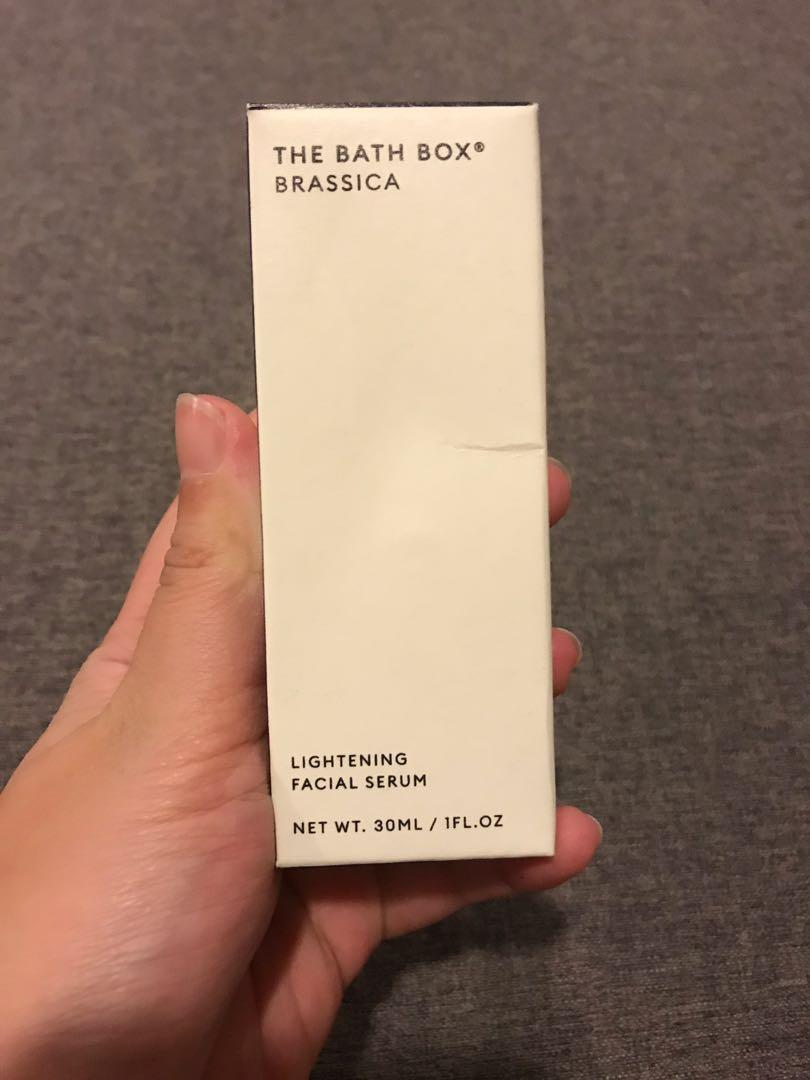 NEW - Serum Brassica The Bath Box