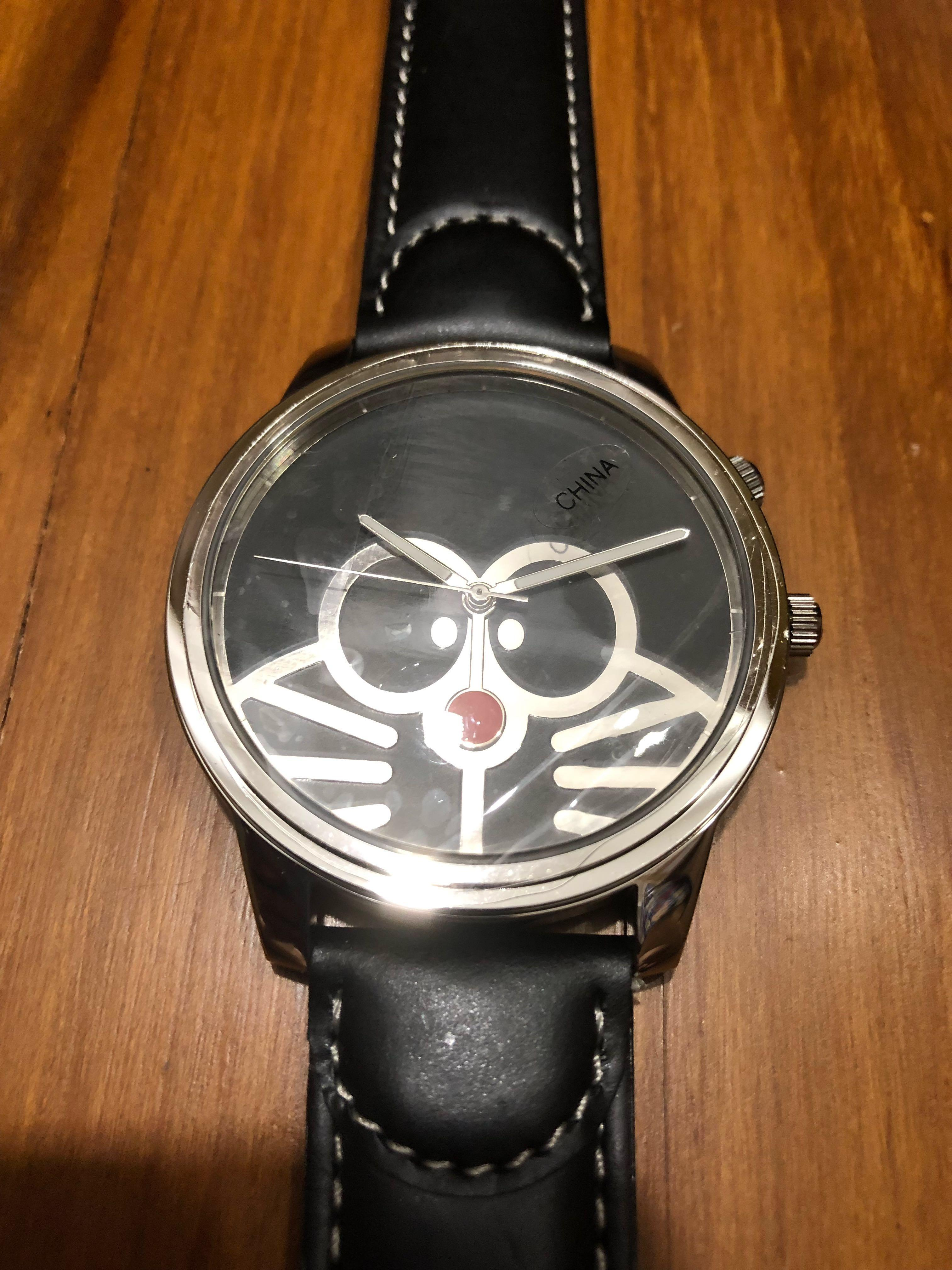 """NEW AND NEVER USED! Limited Edition Doraemon Doratch 2003 Watch """"Big Time"""" (Only 5000 ever released and with unique serial number)"""