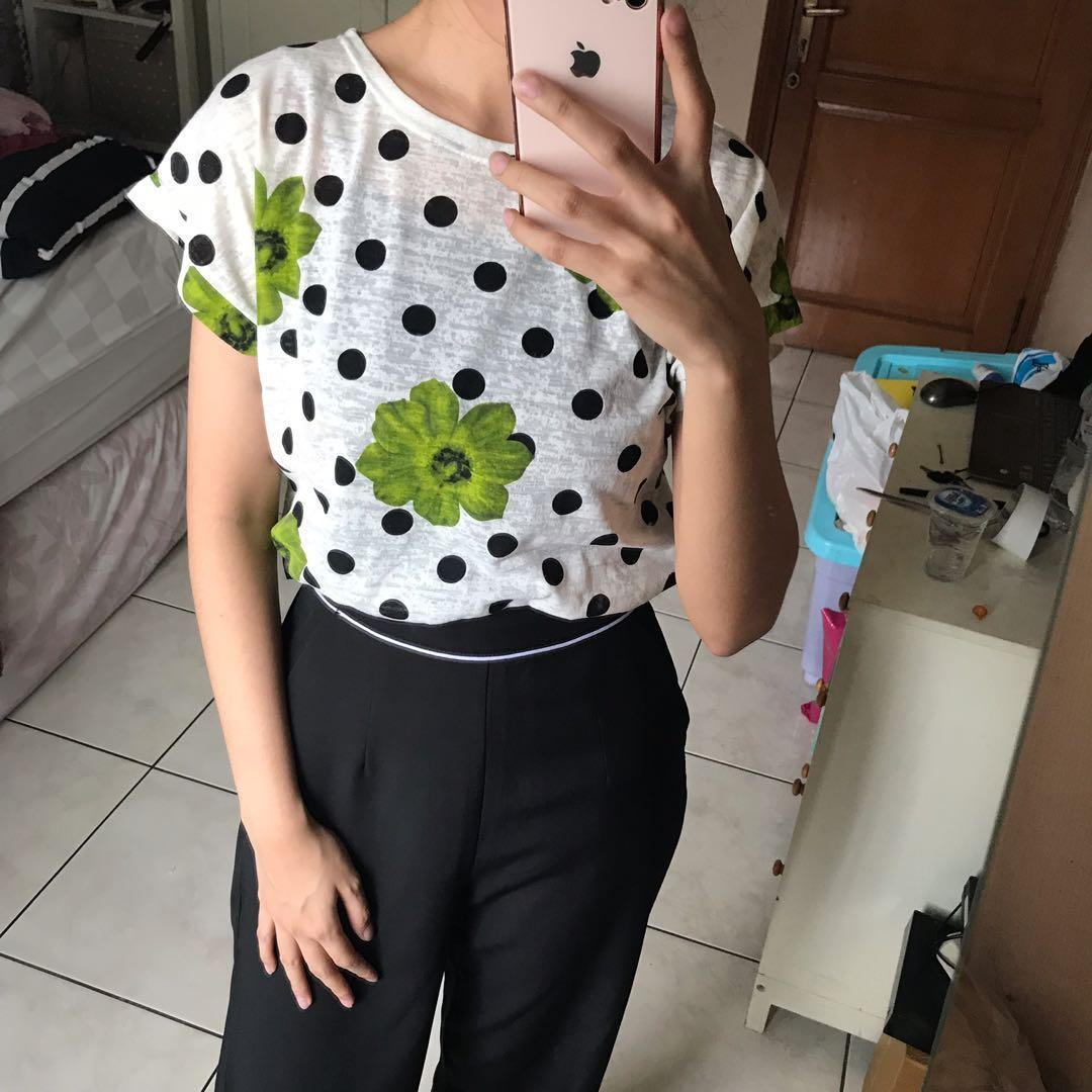 NEW Flower Shirt Top