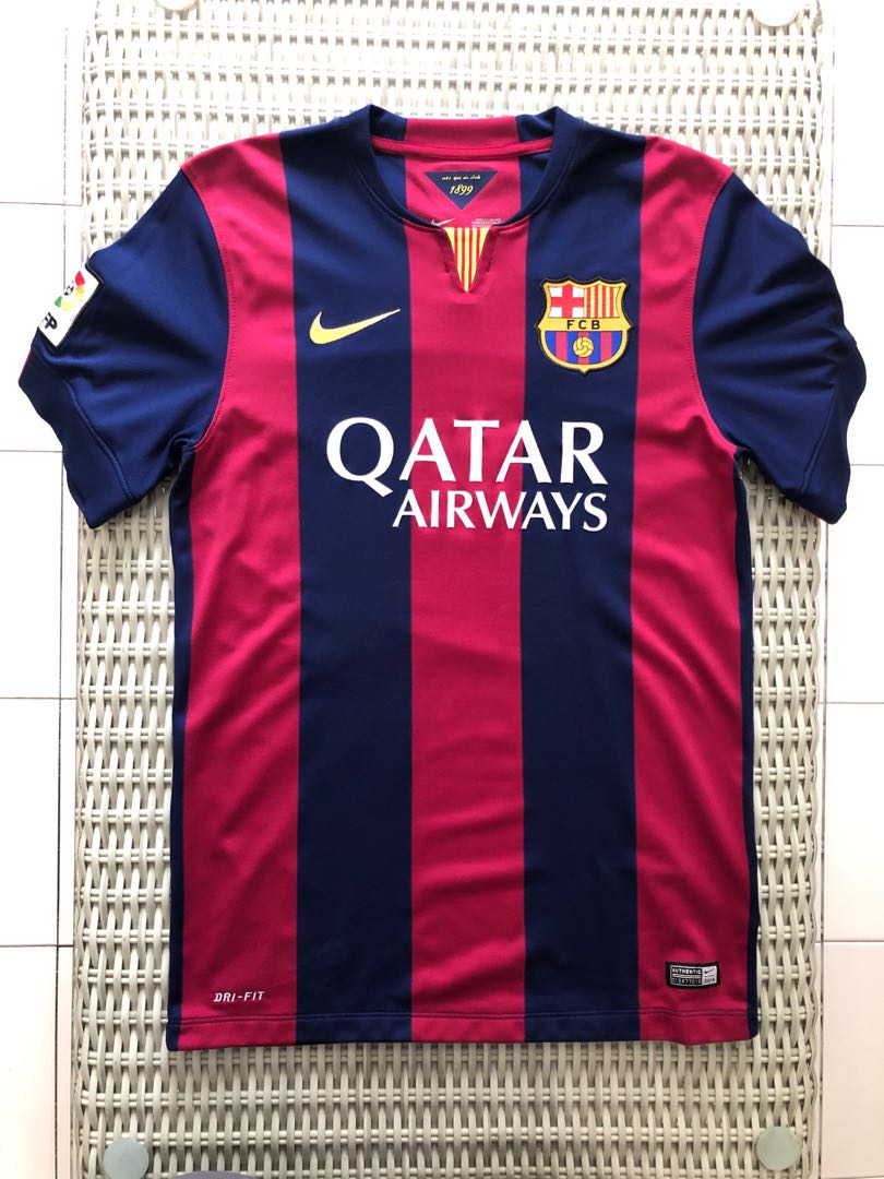 826a1d3d631 Nike 💯% Authentic Barcelona home jersey for SGD 42 (size S)