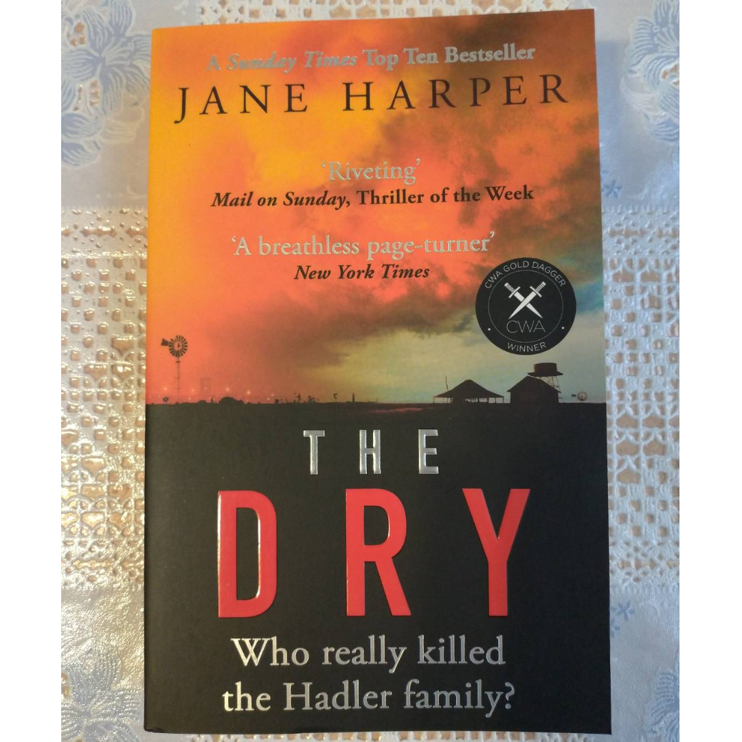 Novel THE DRY [NEW, ORI, IMPORTED] - Bestselling!