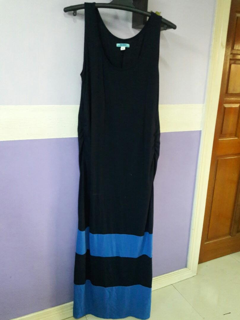 Old navy plus size blue maxi dress on Carousell