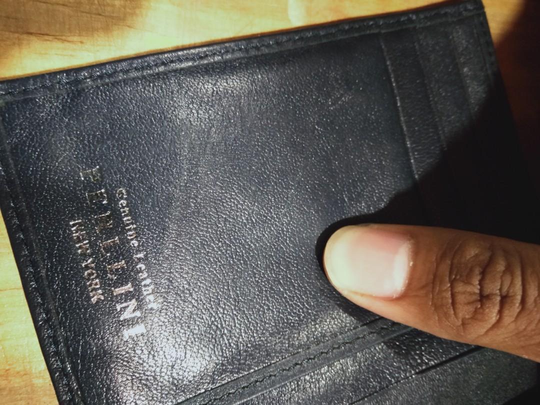 PERLLINI wallet made in new york second original