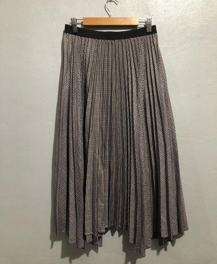 Pleated Skirt / long