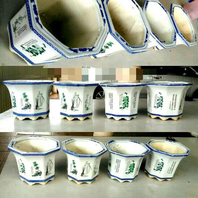 Porcelain Bonsai Pot