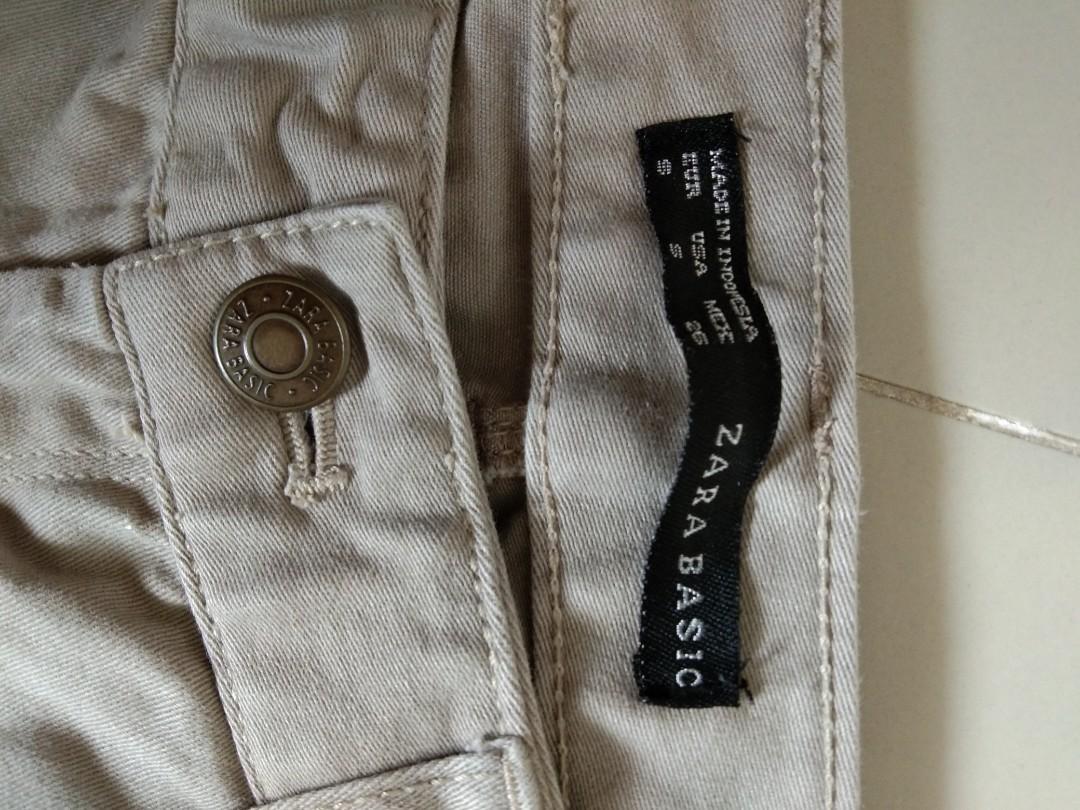 Preloved celana zara basic