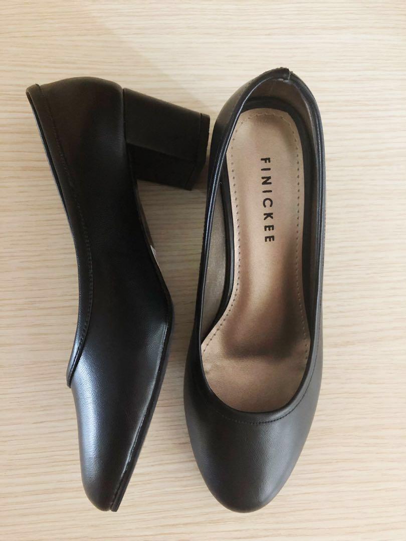 Pumps/Office/School Black Shoes, Women