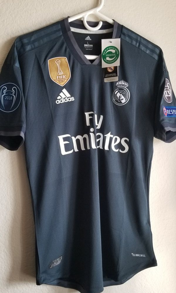 2c1212e9e Real Madrid FC Away 2nd SS AdizeroP.I. FULLY PATCHED 2018 19