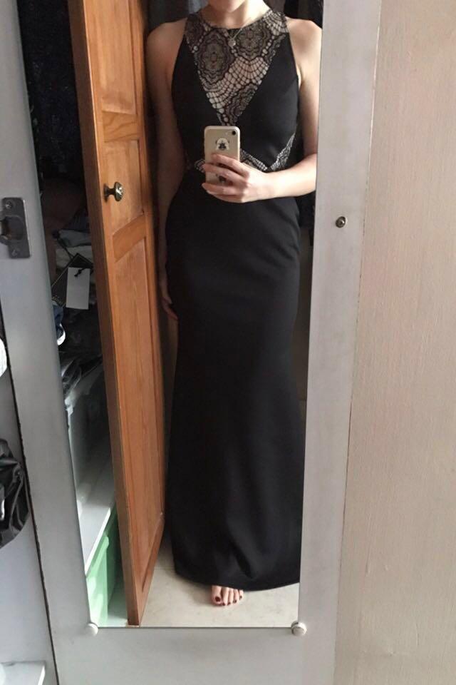 Rental: New Look Lace Insert Maxi Dress