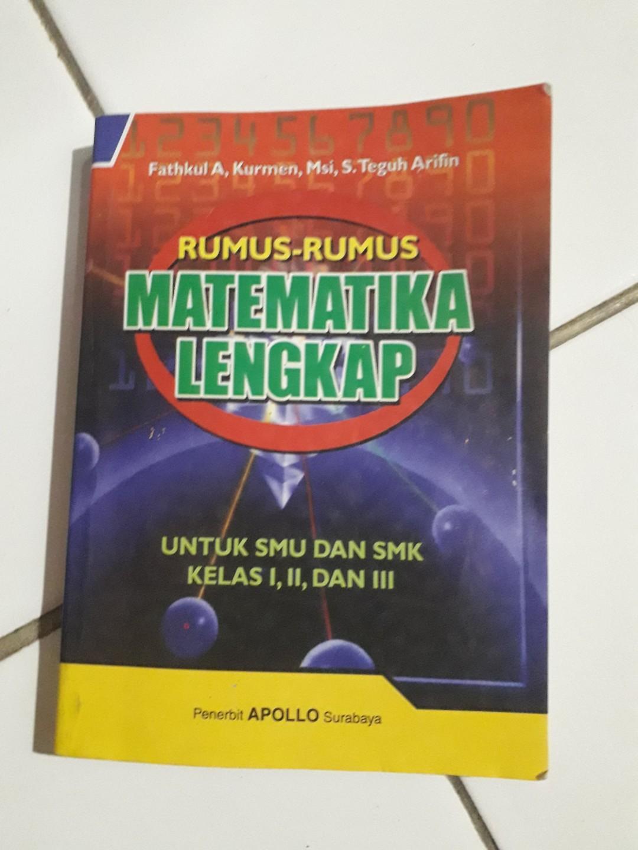 Rumus Matematika Lengkap SMA/SMK/MA