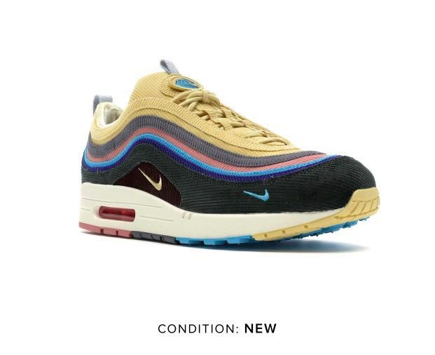 promo code abc15 528f4 Sean Wotherspoon x Nike Air Max 1/97