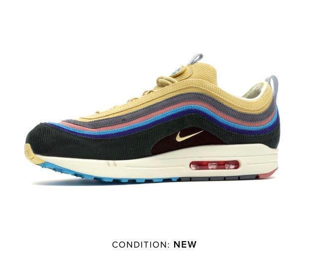 promo code 22510 b340c Sean Wotherspoon x Nike Air Max 1/97