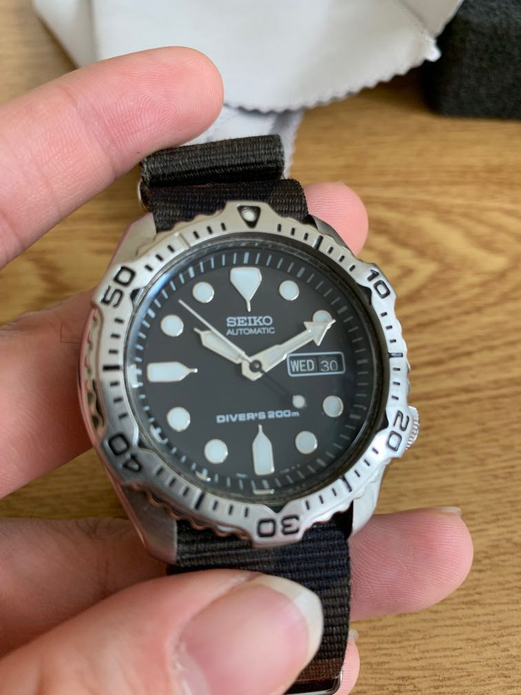Seiko SKX171, Men's Fashion, Watches on Carousell