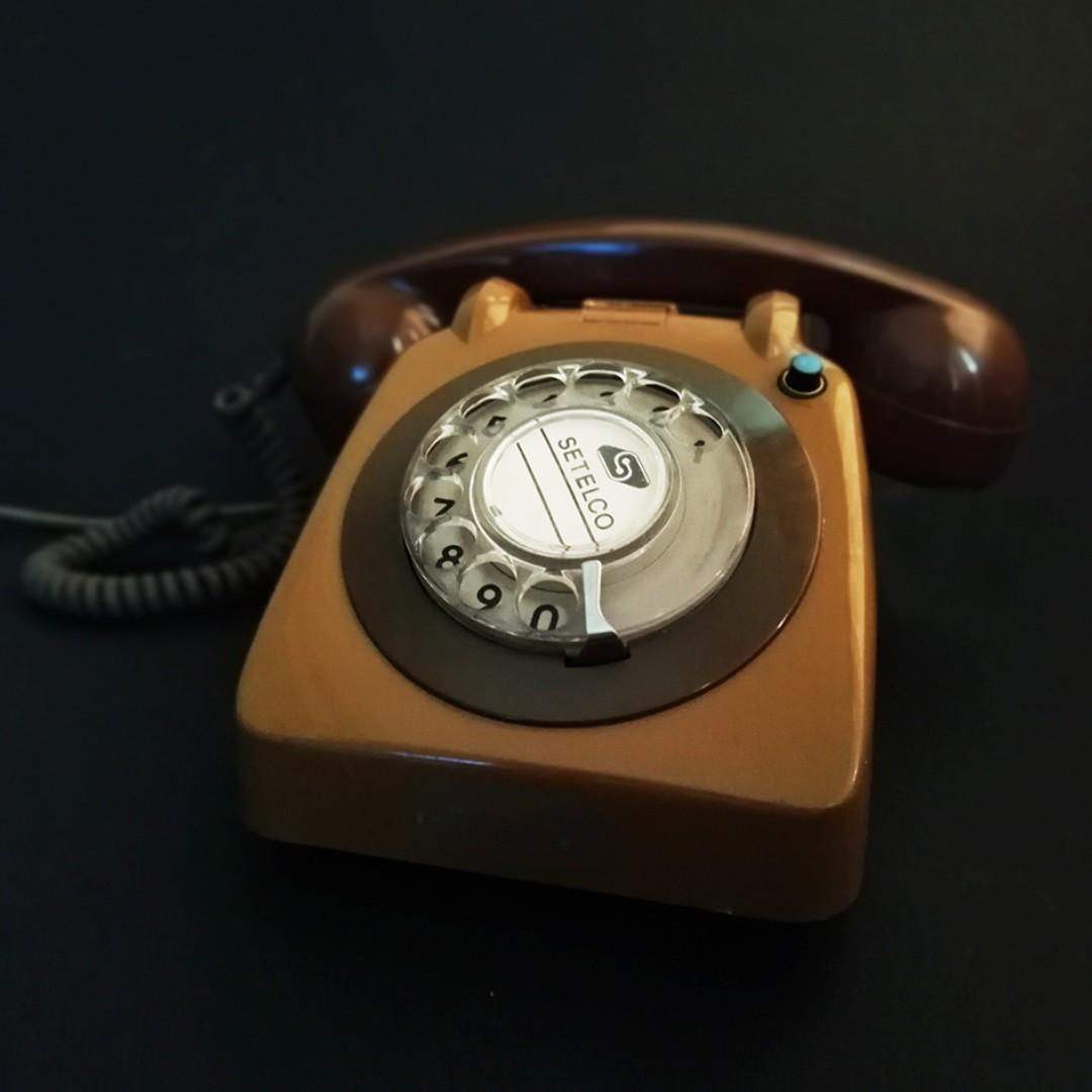 SETELCO Ring dial Telephone