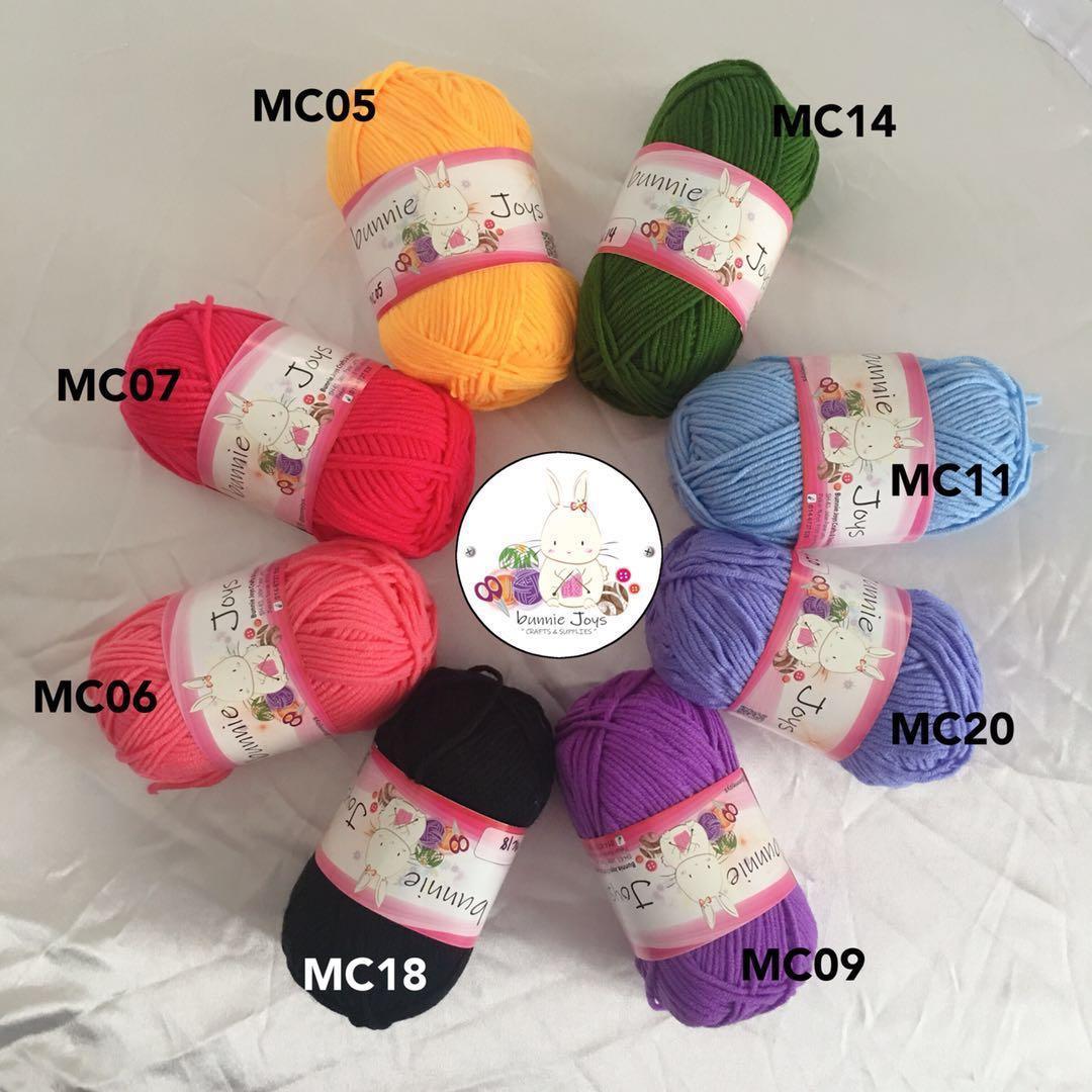 Soft Crochet Knitting Yarn 5ply