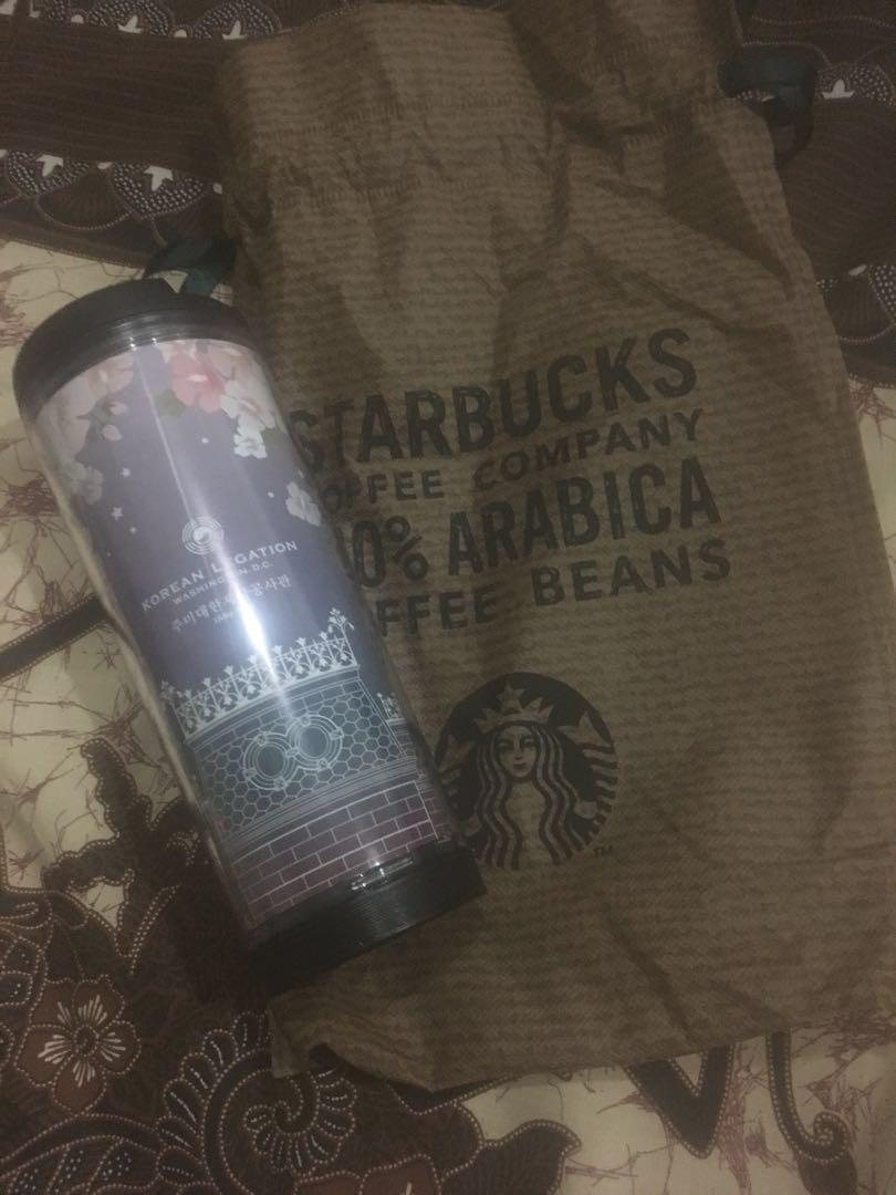 Starbucks Tumblr limited edition korea legation